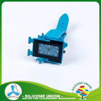 Custom rubber silicone wristband watch