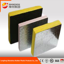 Cold and heat resistant insulation material glass wool board with aluminum foil