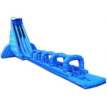 37 North Shore cheap commercial kids inflatable water slide for sale/ giant below up water slide with pool