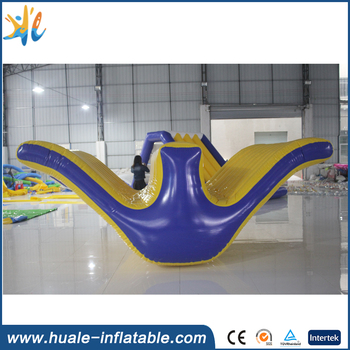 China Supplier Inflatable Aqua Park Equipment / Inflatable Commercial Water Park Toys Inflatable Totter for Sale