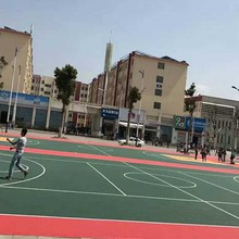 100% new pp plastic outdoor covering mat widely used basketball courts for sale