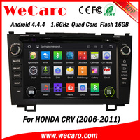 "Wecaro android 4.4.4 car dvd player Direct factory 8"" car stereo for honda crv Steering Wheel Control 2006 - 2011"