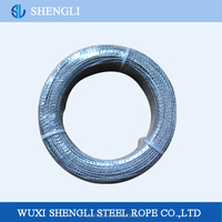 High Tensile Galvanized Steel Wire Ropes 7*7 For Auto Cables