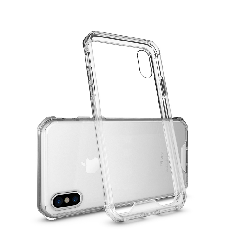 Sublimation Crystal PC Transparent Clear Plastic Hard Mobile Phone Cover for iPhone 10 Case