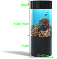 Acrylic Cylindrical Aquariums Acrylic round Fish Tank With Inside Lighting And Filter System
