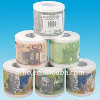 printing money toilet paper roll