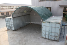 C2020 Good feedback temporary expandable shelter for 20 foot container