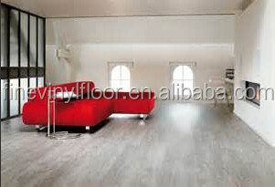 non-slip high gloss laminate pvc vinyl floor