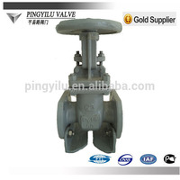 Russian cuniform long stem gate valve for water supply alibaba china