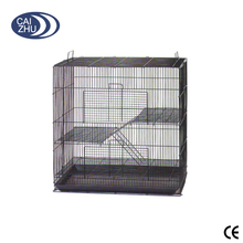 "Medium 3 Levels Cat Ferret Chinchilla Cage with Sugar Glider by Size 24""Length x 16""Depth x 24""Height"