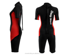 Very cheap women colorful underwater diving suit, surfing wetsuit for four seasons