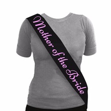 Bridal Sash Mother Of The Bride Sash For Wedding Decoration