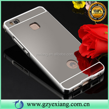 High Quality Mobile Phone Mirror Aluminum Case For Huawei P9 Lite Metal Case