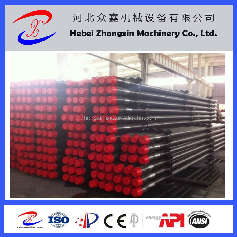 "API 2 3/8"" water well drill pipe for sale from hebei zhongxin tools"