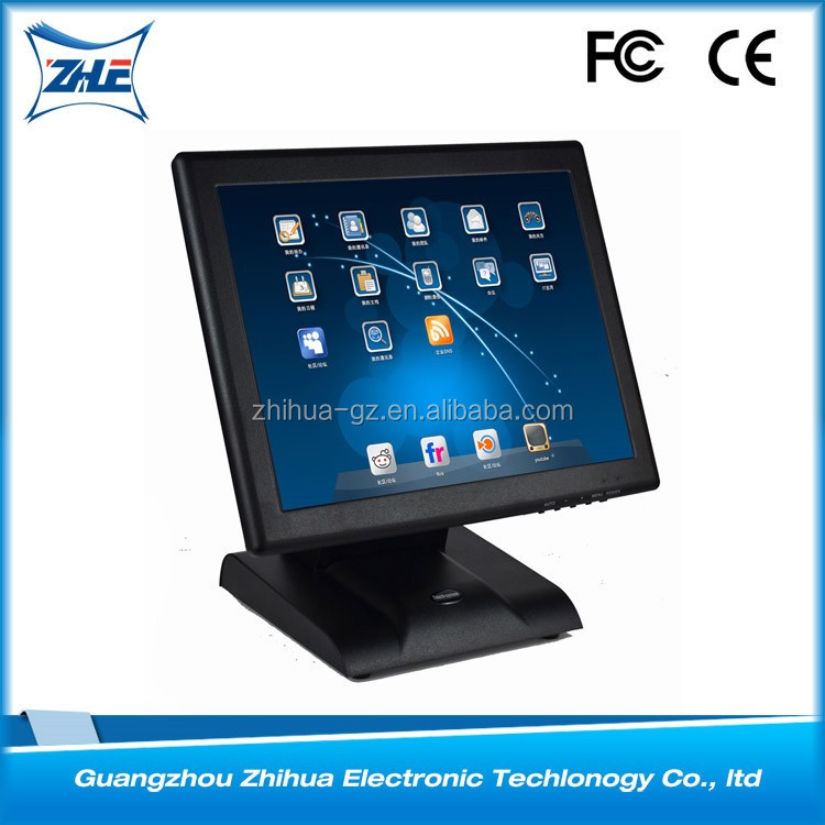 Fast Food Restaurant Pos Machine 15 Touch Screen Monitor