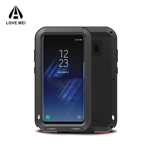 Best amazon Selling Love Mei Wholesale Metal Waterproof Cell Phone Case Shenzhen for Samsung Galaxy S8
