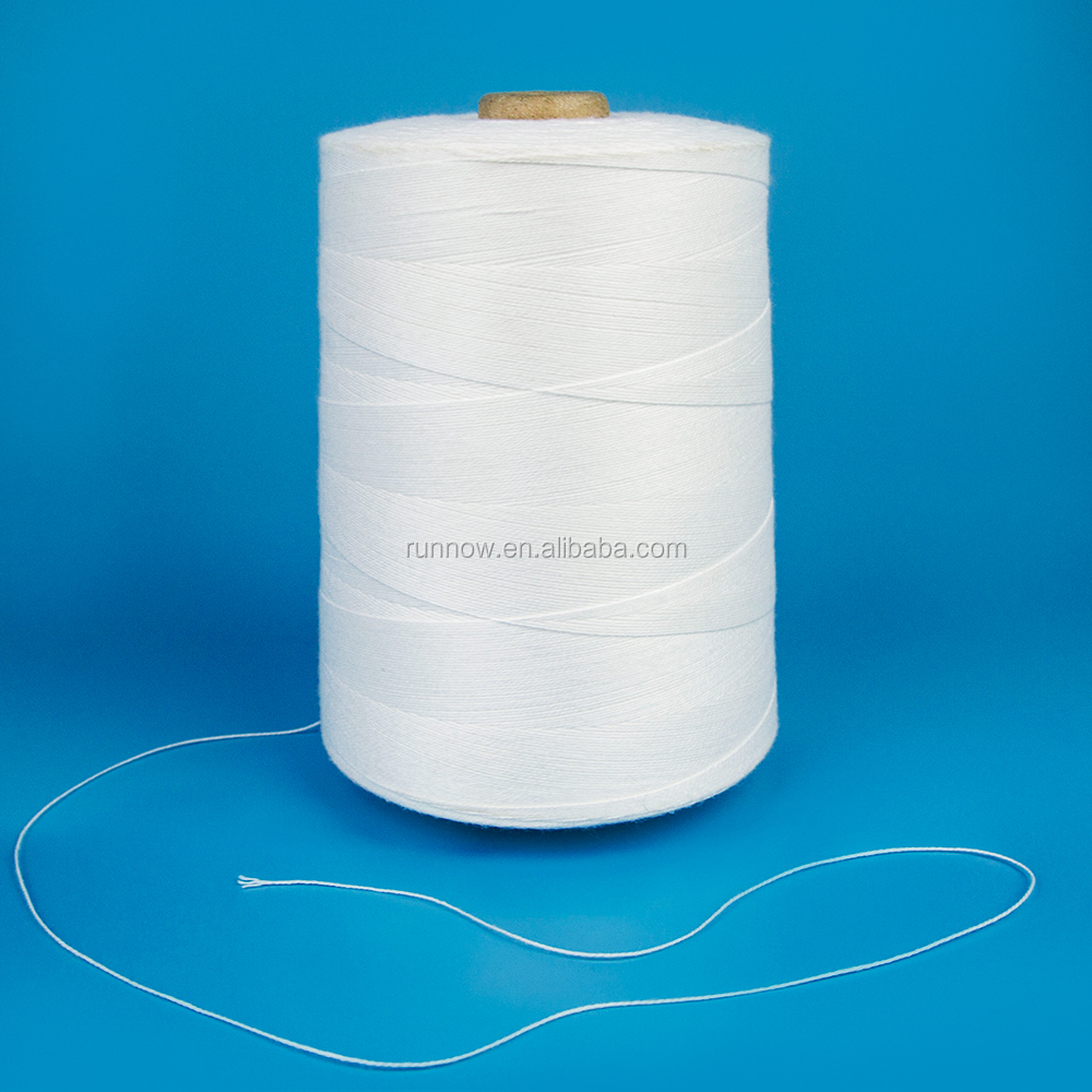 100% polyester bag closing thread for sealing work