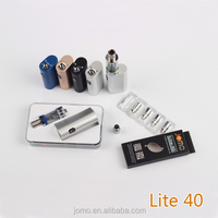 high quality best MAS e-rokok DIY box mod jomo newest lite 40 e cig box mod rokok elektronik