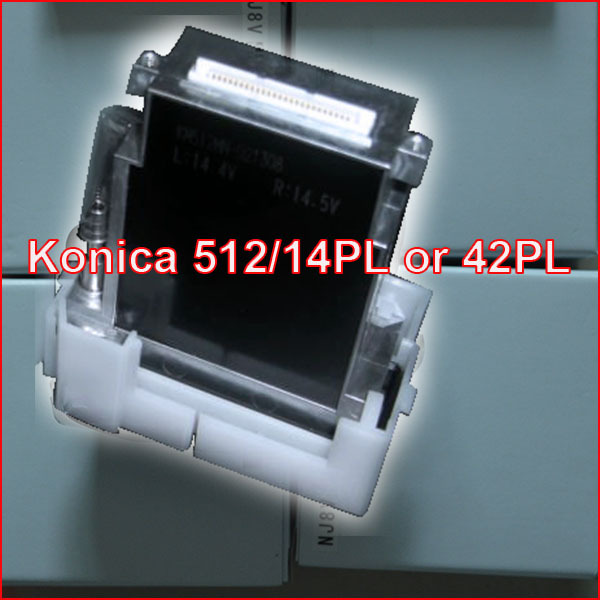 Original hot sale Konica printhead /14pl Konica minolta print head wholesale /Konica 512 42pl printhead