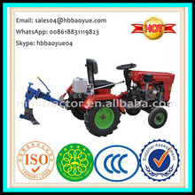 China factory supply 15HP mini farm garden tractor with plough and other implements