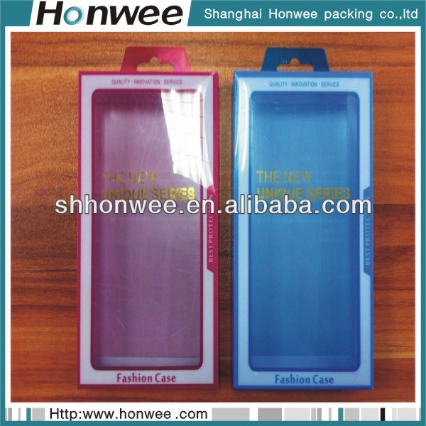 2014 promotional clear plastic packaging phone case