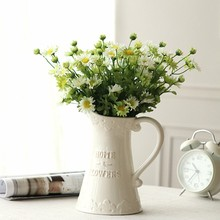 table decoration personalized ceramic small flower vases