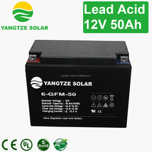 Hot sale 12v 50ah zinc-manganese dry cell batteries