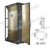 top quality metal holder for italian ceramic tile display