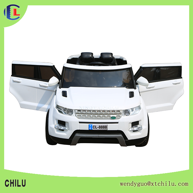 2016 new design electric car gift toys for child with opening door