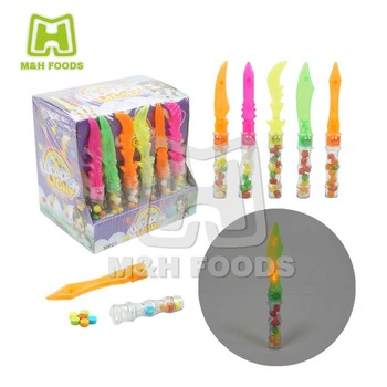 Mix Fruity Flavour Knife Shaped Electric Candy Press Candy