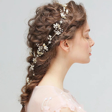 Fashion Handmade Flower Wedding Bridal Pearl Hair Accessories