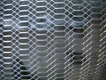 11.15kg/m2 Weight Expanded metal mesh, iron stretch metal mesh