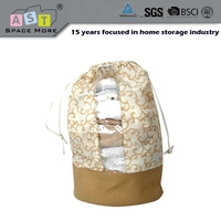 Super quality load capacity drawstring round bottom organza bag