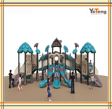 EU standard new design spider web outdoor playground equipment for kids