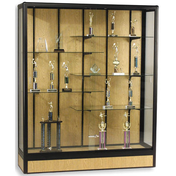 Antique Wooden Display Showcase ,Collectibles Trophies Diaplay Cabinets