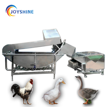 China Industrial Automatic Feather Poultry Chicken Plucker Machine
