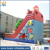 2017 Huale engineer model inflatable slide bouncer in amusement park equipment