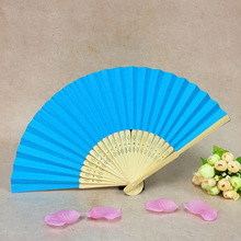 Custom your own wedding favor fans, cheap chinese paper fans