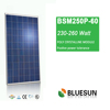 High efficiency solar panel polycrystalline 250w for soalr system