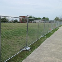 Multifunctional galvanized heavy duty cheap chain link fence with low price