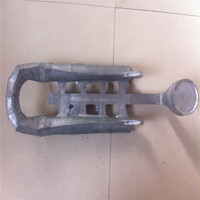 OEM rough casting bicycle leg parts die casting parts