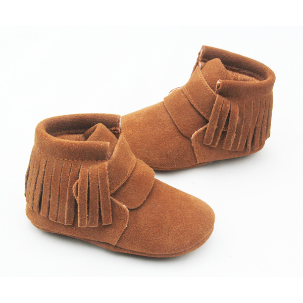 Winter shoe wholesale genuine leather shoes kids boots fashion