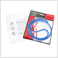 Kearing manufacture 75cm(30 inch) Flexible Curve Ruler blue snake type ruler with blister card for art design#KF-75