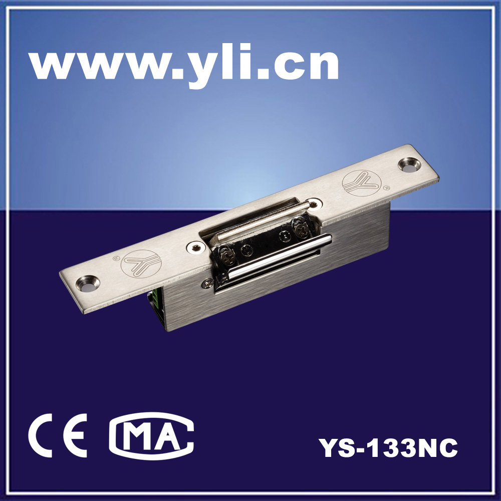 Fail Safe Electronic Strike lock Is Suitable for Glass Door YS-133NC