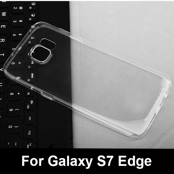 Tpu cell phone cover For Samsung Galaxy S7 edge G935 soft clear case