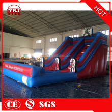 YBJ giant inflatable Double slides Anime characters model inflatable slide