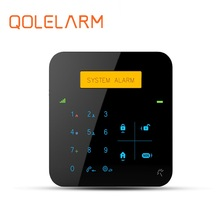 New arrival LCD display backup battery Android/IOS APP home security wireless alarm buzzer