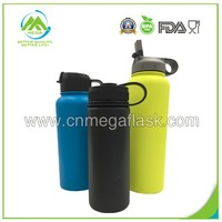 10 Colors Wide Mouth Straw Lid Vauum Insulated Hydro Flask/Water Bottle/Vacuum Flask