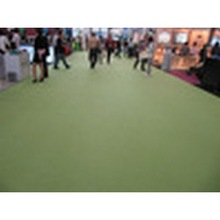Best price 100% polyester Needle Punched Nonwoven Plain Surface Exhibition Carpet
