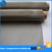 Anping Factory Price 316 304 300 Micron Stainless Steel Wire Mesh For Filters